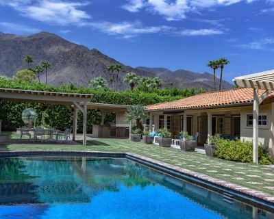 The Sol Lesser Estate - Walled & Gated Celebrity Home! Walk to Town! - Old Las Palmas