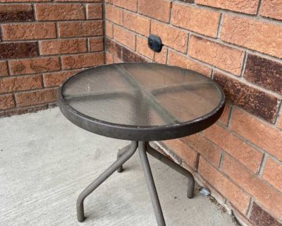Side table outdoor