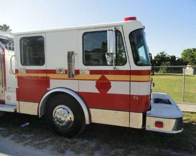 1998 Spartan Custom Rescue Pumper