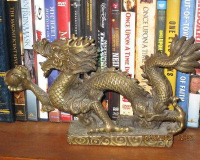 Dragon in Solid Bronze