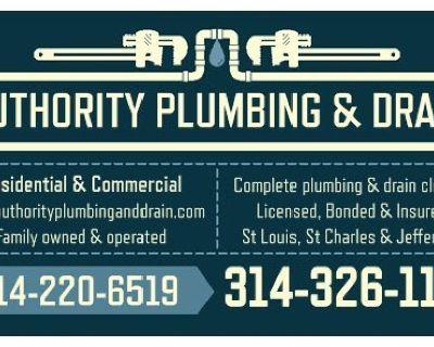 Licensed Plumber, Plumbing, Drain Cleaning & Sewer Repair