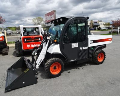 2019 Bobcat 5600 TOOLCAT WORK MACHINE - ONLY 164 HOURS - 61 HP Turbo-Charged Bobcat Engine (Tier 4) - FINANCING AVAILABLE - DELUXE ROAD PACKAGE - 2 SPEED - HIGH FLOW HYD