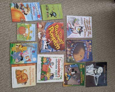 Halloween or pumpkin books