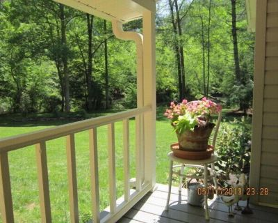 Lovely Cottage on the Chestatee River...the ultimate in social distancing - Dahlonega