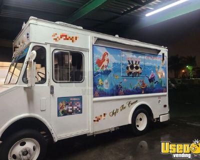 Permitted Super Clean Chevrolet Diesel Step Van Ice Cream Truck