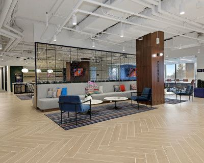 Exterior Meeting Room in an Upscale Workplace, Chevy Chase, MD