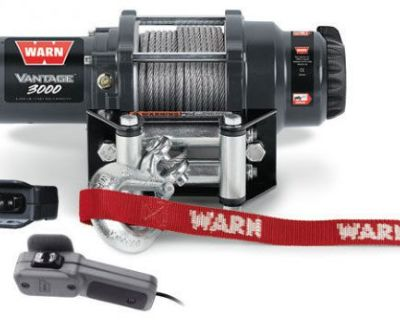 Warn Atv Vantage 3000 Winch W/mount Gator 2016 Rsx860i