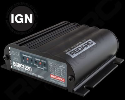Redarc BCDC1220 In vehicle dual battery charger-250