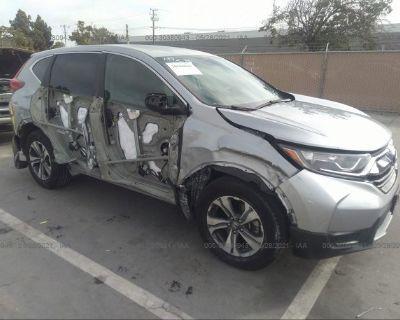 Salvage Silver 2017 Honda Cr-v