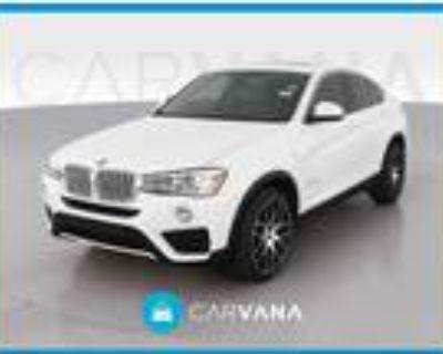 2015 BMW X4 White, 44K miles