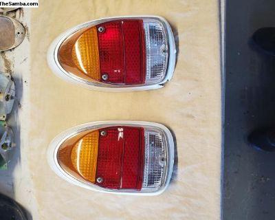 68-69 Tail Light Assemblies Euro Lenses