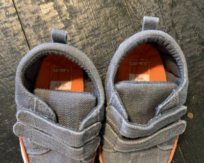 6-9 month gray shoes