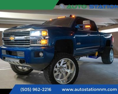 2015 Chevrolet Silverado 2500HD Built After Aug 14 4WD CREW CAB 153.7 INCH HIGH COUNTRY