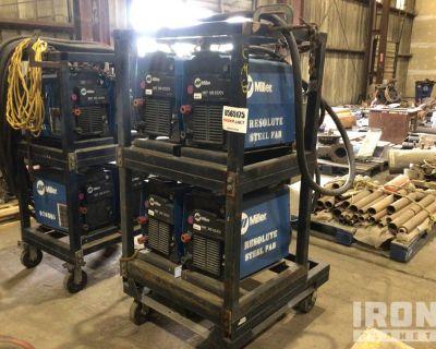 Lot of (4) Miller XMT350 Electric Welders