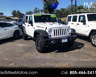 2016 Jeep Wrangler Unlimited 4WD 4dr Rubicon Hard Rock