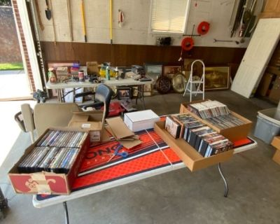 Estate Sale With Tools and Antiques