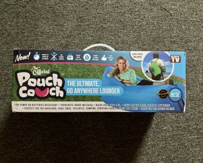 New Pouch Couch Lounger