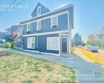2359 N 62nd St, Seattle, WA 98103 2 Bedroom House