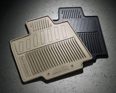 2013 Nissan Pathfinder All-season Rubber Floor Mats **almond Interior**