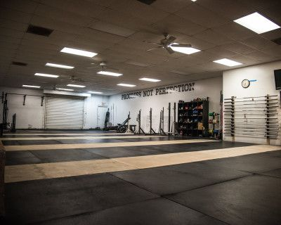Open Floor Place Gym with Functional Fitness Equipment, San Marcos, CA