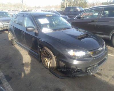 Salvage Black 2011 Subaru Impreza Wagon Wrx
