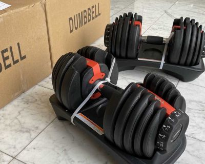 Adjustable Dumbbells (5-52.5 Lbs) - New in Box