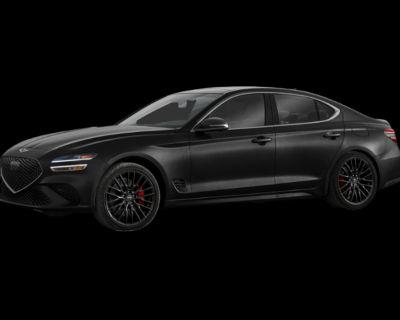 New 2022 Genesis G70 3.3T AWD 4D Sedan