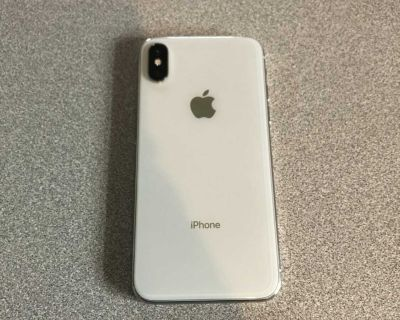 AT&T Apple iPhone X 64 GB white