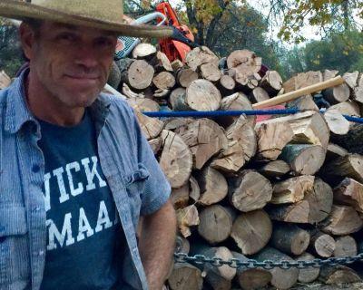 Seasoned Oak Firewood In Groveland, CA $350/cord