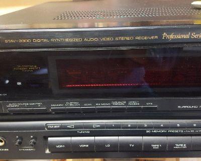 Optimus3300 digital video-stereo receiver