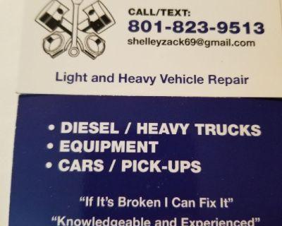 Mobile vehicle repair