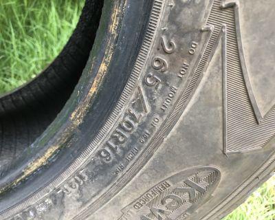 tire 265/70R16