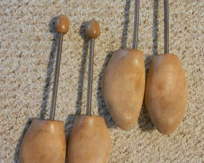Vintage (1960s) shoe stretchers/trees for holding the shape of dress shoes