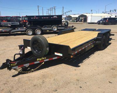 Super Duty Tandem Axle Equipment Trailer, Big Tex 16ET-17+3