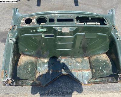 61 Bug Front Dash Clip