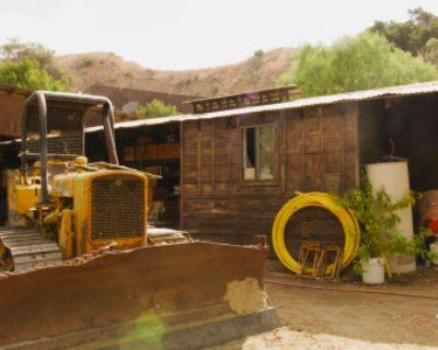 Run-Down Rustic Barn/Factory + Slaughterhouse + Warehouse + Horror Rustic Workshop, Sun Valley, CA