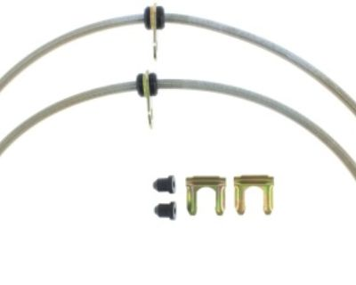 Stoptech Stainless Steel Braided Front brake lines in stock and Ready to ship!!