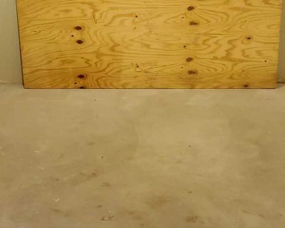 """8ft x 38.5"""" 5 Plywood 3/4"""" Thick Sanded"""