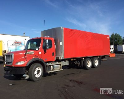 2014 Freightliner M2 112 6x4 Curtain Side Truck