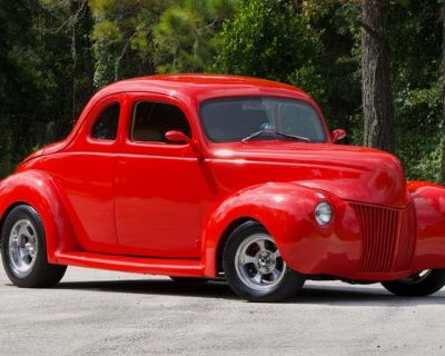 1939 Ford Deluxe All-Steel Coupe Deluxe Restored Roadster V8 Engine Swap