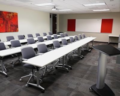 Private Meeting Room for 27 at Executive Workspace @ Spectrum