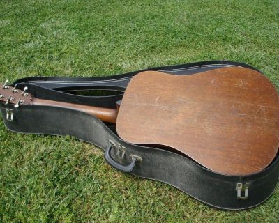 1937 Martin D-18 Pre-War Vintage Acoustic Guitar