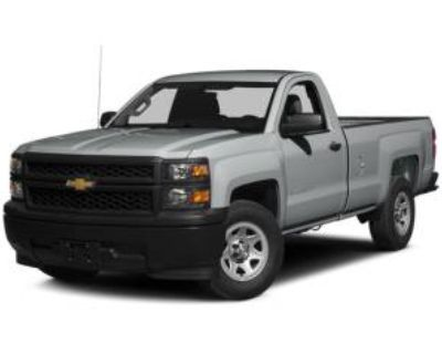 2014 Chevrolet Silverado 1500 WT with 2WT Regular Cab Standard Box 2WD