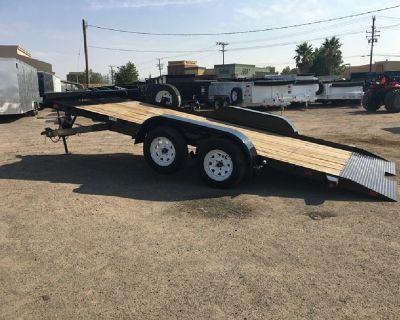 Tandem Axle Tilt Car Hauler, GVWR 7,000 lbs 7x18 Tilt Car Hauler, Big Tex 70CT-18