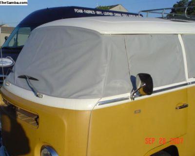 Bay Window Bus Windshield Cover W/WO Screens