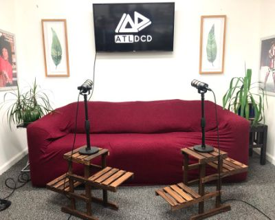 Podcast & Video Recording Studio (Equipment Included), Atlanta, GA