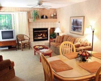 Trout Creek - Vacation Condo #100, 2 bedroom, 2 bath. Close to Outdoor Pool, Tennis, Pickleball. - Harbor Springs