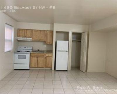 1429 Belmont St Nw #8, Washington, DC 20009 Studio Apartment