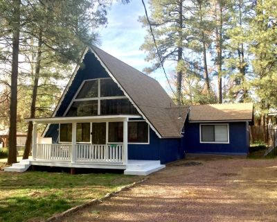 Newly Remodeled A-Frame Cabin in the Pines - Strawberry