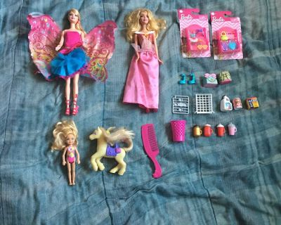 Lot Of 3 Barbie Dolls And Others